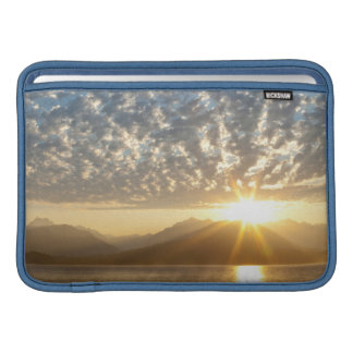 USA Washington, Seabeck. Solnedgång MacBook Sleeve