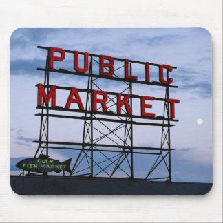 USA Washington, Seattle, den Pike gatan Musmatta