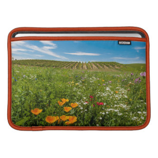 USA Washington, Walla Walla. Vildblommar MacBook Air Sleeve