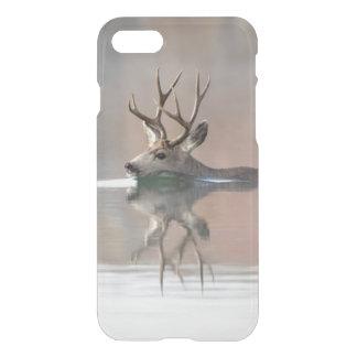 USA Wyoming, sjö för simning för bock för iPhone 7 Skal