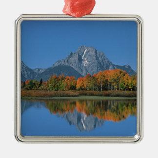USA Wyoming, storslagen Tetons nationalpark i 4 Julgransprydnad Metall