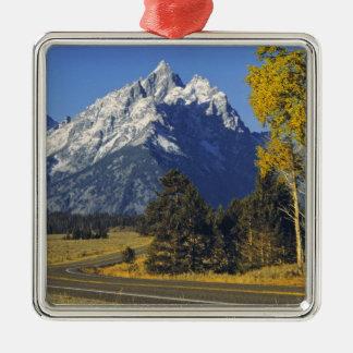 USA Wyoming, storslagna Teton NP. Teton gångallé Julgransprydnad Metall