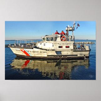 USCG 47 fot motorisk lifeboataffisch Poster