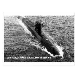 USS ALEXANDER HAMILTON VYKORT