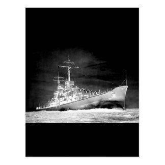 USS Atlanta Vykort