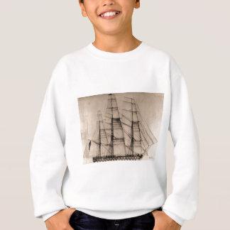 USS Columbus Sailplan T-shirts