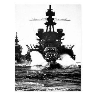 USS den of_War PENNSYLVANIA och slagskeppet Vykort