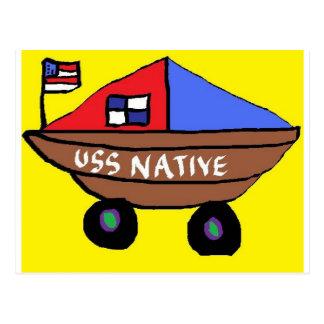 USS-INFÖDING VYKORT