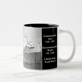 USS Joseph T. Dickman (APA-13) Kaffe Kopp