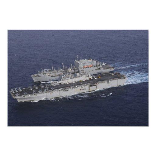 USS Kearsarge Fotontryck
