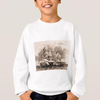 USS-konstitution i handling Tshirts