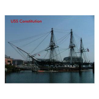 USS-konstitution Vykort
