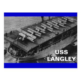 USS-LANGLEY VYKORT