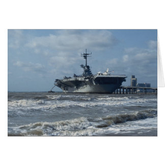 USS Lexington Hälsningskort