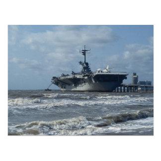 USS Lexington Vykort