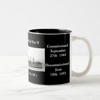 USS Mellette APA-156 Kaffe Koppar