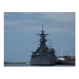 USS Missouri Vykort