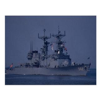 """USS Nicholson"""", spruancen klassificerar jagaren Vykort"""