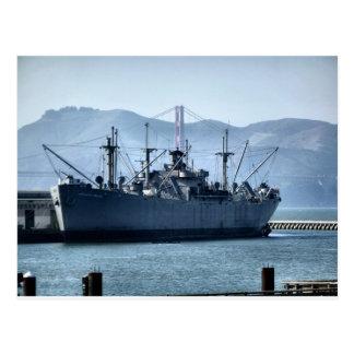 USS O'Brien Vykort