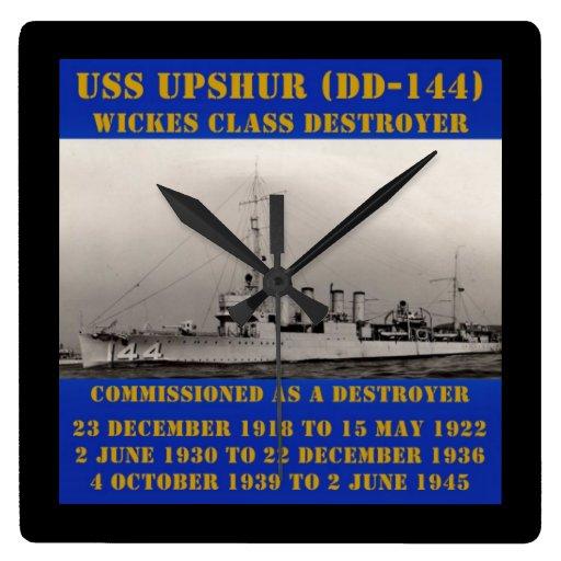 USS Upshur (DD-144) Väggklockor