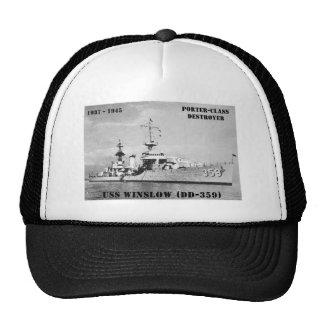 USS Winslow (DD-359) Trucker Keps