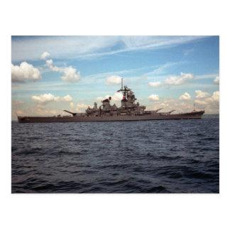 USS Wisconsin (BB-64) Vykort