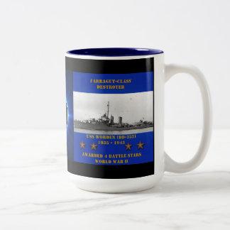 USS Worden (DD-352) Kaffe Koppar