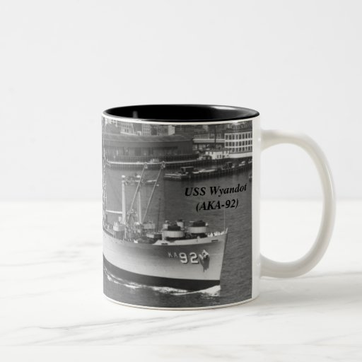 USS Wyandot (AKA-92) Kaffe Koppar