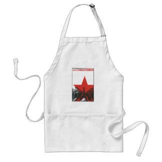 USSR CCCP kalla krigetsovjet - facklig propaganda Förkläde