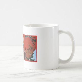 USSR CCCP kalla krigetsovjet - facklig propaganda  Kaffe Mugg