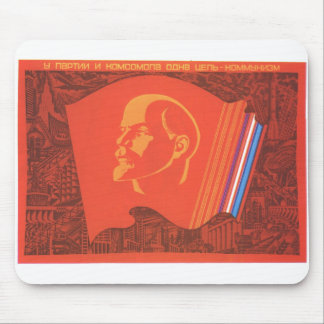 USSR CCCP kalla krigetsovjet - facklig propaganda  Mus Matta