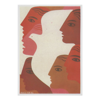 USSR CCCP kalla krigetsovjet - facklig propaganda Poster