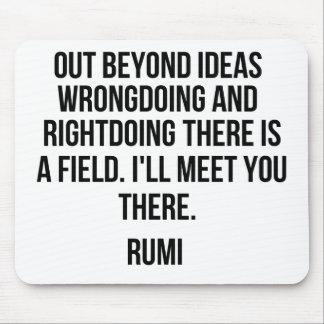 Ut det okändaidéer…, Rumi Musmatta