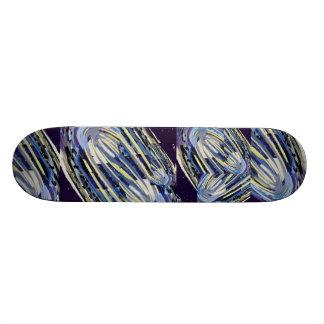 Ut ur kontrollera - kasta snöboll komet i flyg old school skateboard bräda 18 cm