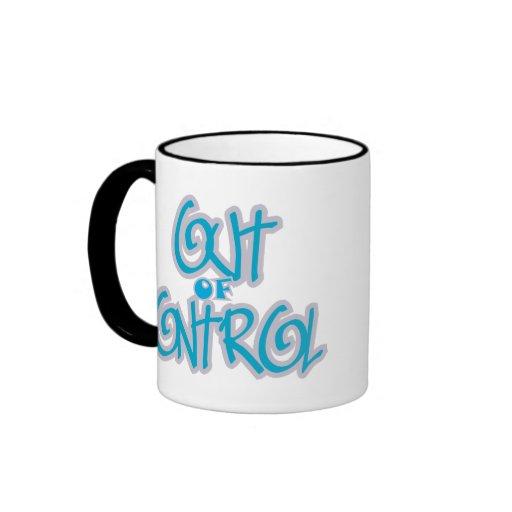 Ut ur kontrollera kaffe mugg