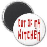 Ut ur min roliga ordstävmagnet för kök kylskåpmagneter