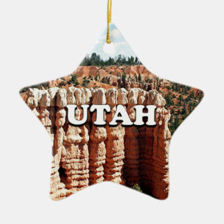 Utah: Bryce kanjonnationalpark Julgransprydnad Keramik