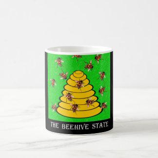 Utah den statliga bikupan kaffemugg