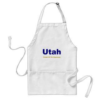 Utah-Folk av bergen Förkläde
