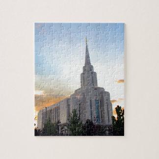 Utah för LDS-mormonOquirrh berg tempel Pussel