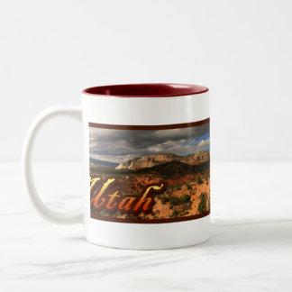 Utah klippor Två-Tonad mugg
