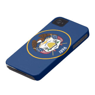 Utah statlig flagga iPhone 4 Case-Mate case