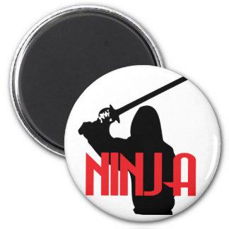 Utbildade Ninja Magnet Rund 5.7 Cm