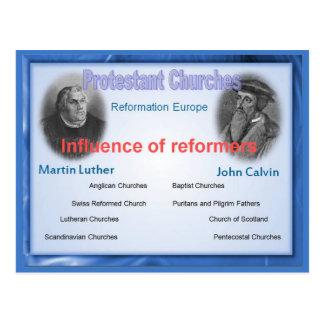 Utbildning religion, påverkan av världsförbättrare vykort