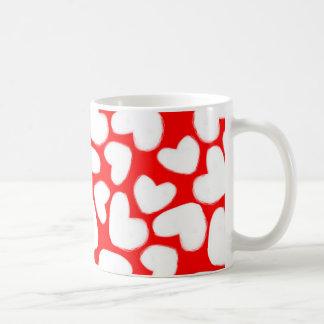Utdragna hjärtor 2014 kaffemugg