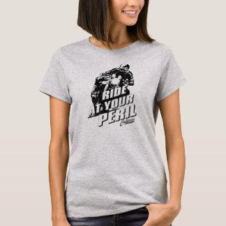 """Utformad T-tröja """"för risk"""" CafeRacer vintage T-shirts"""