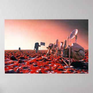 Utforskare återbesöker Viking 2 Affisch