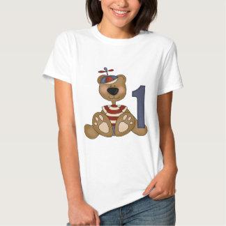 Uthärda lite den 1st födelsedagen t-shirts