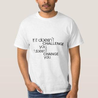 Utmaningmålskjorta Tröjor
