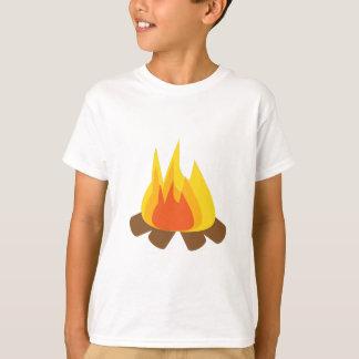 Utomhus- avfyra t-shirt